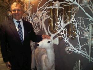The Berkeley luxury hotel's GM Klaus Kabelitz and Bambi