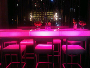 Outdoor café, Hotel Beverly Wilshire