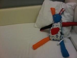 Luxury cheap Citizen M hotel Amsterdam's rag-doll