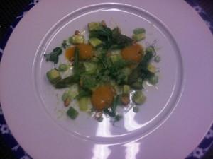 Conservatorium's chef Schilo van Coevorden's salad
