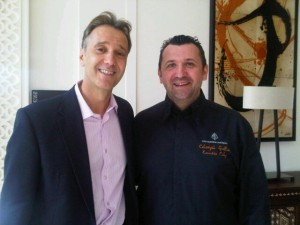 Luxury hotels and travel -  GM Jean-Claude Wietzel and Chef Christophe Gillino of Four Seasons Hotel Marrakech