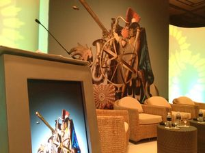 Stage design for the opening ILTM Forum