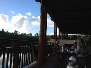 Breakfast on Laguna's terrace