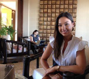 Four Seasons' social media guru, Felicia Yukich