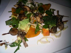 Autumn salad, by Mosimann's London Chef Jerôme Henry