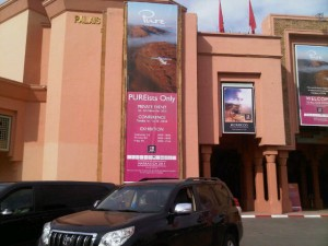 Luxury hotels and travel - PURE welcome at Palais des Congrès, Marrakech