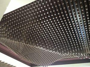 Ceiling sculpture, Park Hyatt Abu Dhabi lobby
