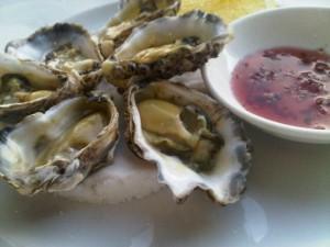 Shangri-La Sidney - Rock oysters to start ...