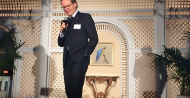 Oetker Collection's Frank Marrenbach during ILTM 2015