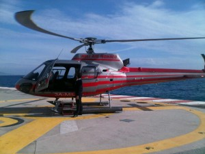 Luxury hotels and travel - Heli-Monaco chopper, a great option to a cab