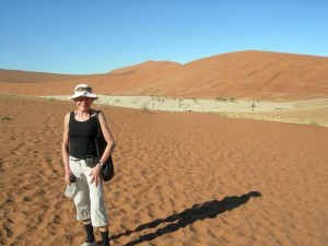 Luxury hotels and travel - Mary Gostelow looking at Namibia's dunes