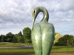 Simon Gudgeon's Isis, by the Serpentine