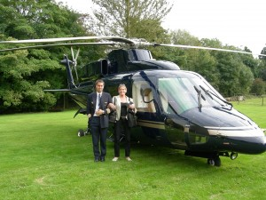 Luxury hotels and travel - Andrew Davis, his chopper and Mary Gostelow