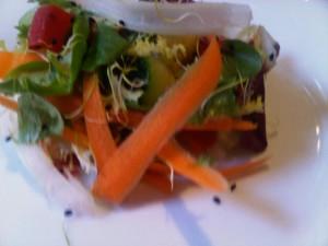Villa Padierna Therma Hotel's diet salad