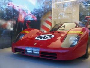 Luxury car at a luxury hotel: the The Berkeley's Ferrari Atelier