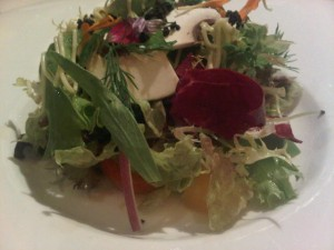 House salad at Iggy's restaurant - Singapore