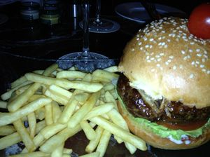 Escape to an ostrich burger (with fries, of course)