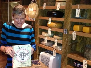 The amazing walk-in cheese room