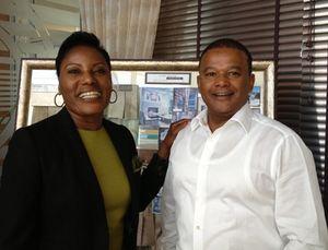 Martha Namundjebo Tilahun and her husband Haddis Tilahun