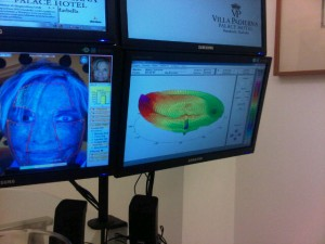 Villa Padierna's face and eye security identification analysis