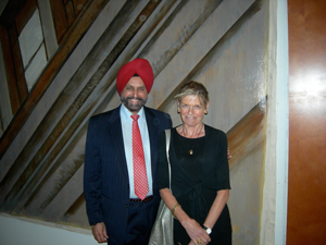 Sant Chatwal shows off his eponymous New York hotel