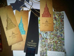 Winners in the Leading Hotels of the World's bookmark competition