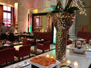 ... which integrate X Arts restaurant
