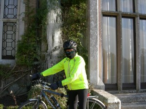 and cycling at home, winter gear...