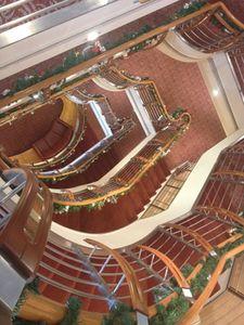 Stairwell vista