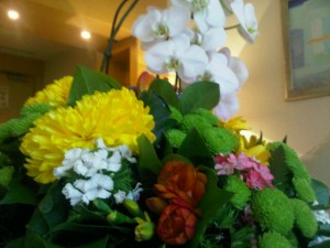Luxury hotels and travel - Flowers at room 1015, Monte-Carlo Bay Hotel, Monaco