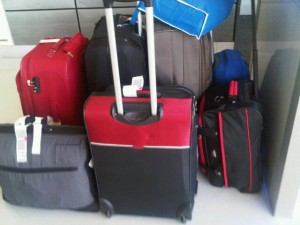 Why does a guy need so much baggage?