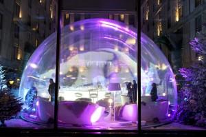Taittinger Bubble at Paris Hilton Arc de Triomphe