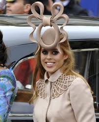 Princess Beatrice at The wedding