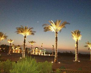 New Moon over Emirates Palace, Abu Dhabi