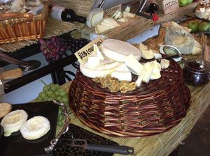 and superb cheeses