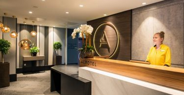 Aerotel London Heathrow by Plaza Premium - reception