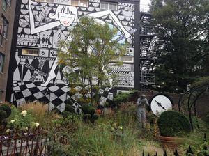 Marcel Wanders' Alice in Amsterdam garden