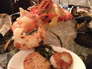 Best-selling seafood platter