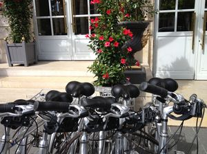 ..and its bikes, ready to join the throng