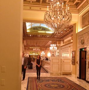 The fabulous lobby