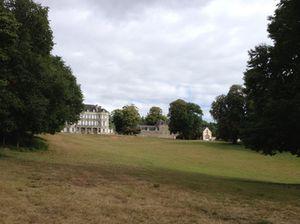 ..towards the main house