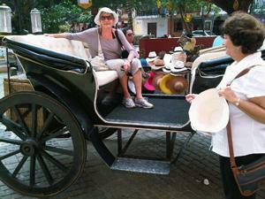 A typical Cartegena carriage