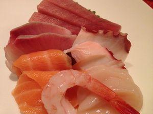 Sashimi aplenty