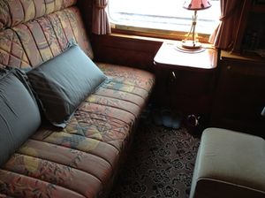 A Pullman Suite, by day