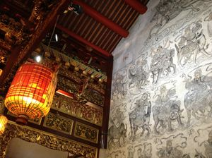 Historic family temple in Penang