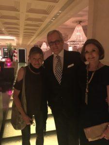 Christoph and Irmegard Schmidinger met at hotel school