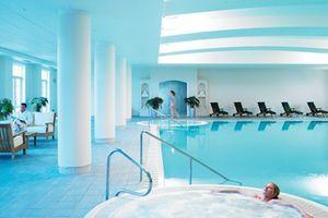 The hotel's spa