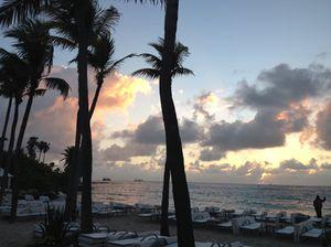 Breakfast at the Beach Club, 7am