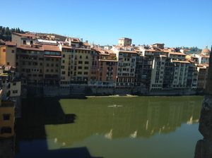 View across the Arno from the Continentale