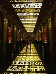 An art-work corridor